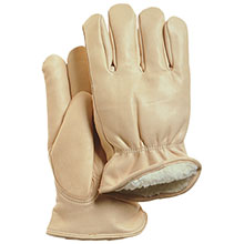 Majestic Drivers Gloves Cow Keystone Pile Lining 1511