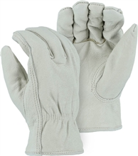 Majestic Drivers Gloves Pig Keystone Fleece Lining 1511P