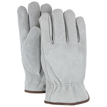 Majestic Drivers Gloves Style Cow Split Medium 1512