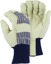 Majestic Work Gloves Pigskin Lined Knit Wrist 1521