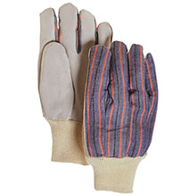 Majestic Leather Palm Gloves Knit Wrist 1524