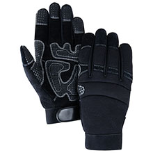 Majestic Cut Resistant Gloves Silicone Grip Palm Knit Back 2121