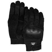 Majestic Cut Resistant Gloves Rev.Cow Palm Tpu Knuckle Fngr Grds 2123