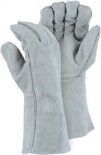 Majestic Welders Gloves Welding Grey Left Hand Only 2514CLHO