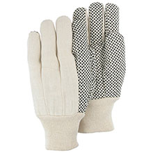 Majestic String Gloves Cotton Clute Cut Polka Dot 3405
