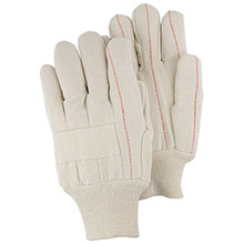 Majestic Hot Mill Gloves 18Oz Nap In Knuckle E Strp 3406
