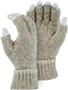 Majestic Work Gloves Ragg Wool Knitted Heayweight Fingerless 3427