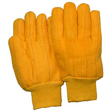 Majestic Work Gloves Yellow Chore Heavy Duty 3459