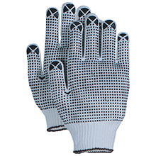 Majestic String Gloves 2 Side Dotted Knit MAJ3825 3825
