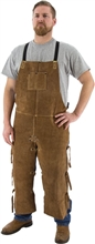 "Majestic Leather Welding Bib Apron 36"" 6141, Kevlar Sewn, 6141"