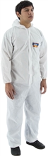 Majestic Aerotex Sms Coverall Hood 25/Cs 74-202