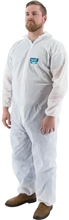 Majestic Resistex PP CPE Disposable Coverall Hood 25/Cs 74-302
