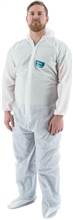 Majestic Resistex PP CPE Disposable Coverall Hood Boots 74-303