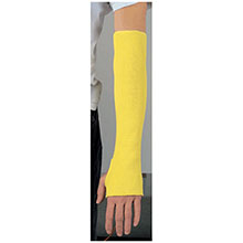 Memphiss 18in Yellow Regular Weight Kevlar Cut Resistant 9378T