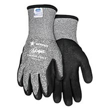 Memphis Glove Black And Gray Ninja Therma Force 7 MEGN9690TCXL X-Large