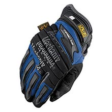 Mechanix Wear Black And Blue M-Pact 2 Full Finger MF1MP2-03-011 X-Large
