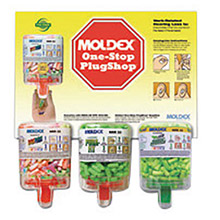 Moldex-Metric Earplugs One Stop PlugShop Dispenser Starter 604