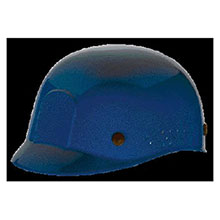 MSA Hardhat Blue Polyethylene Bump Cap Perforated 10033650