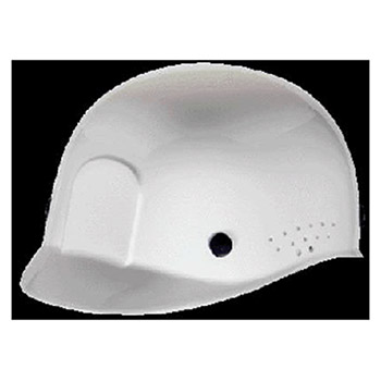 MSA Hardhat White Polyethylene Bump Cap Perforated 10033652