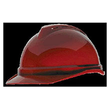 MSA Hardhat Red V Gard Advance Class C Type I Polyethylene 10034022