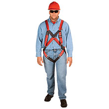 MSA Safety Harness Universal TechnaCurv Pullover Style 10041518
