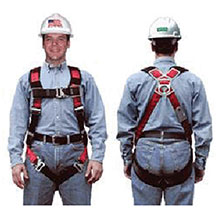MSA Safety Harness Universal TechnaCurv Vest Style 10041591