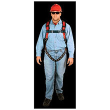 MSA Safety Harness TechnaCurv Vest Style Qwik Fit 10041615