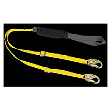 MSA Lanyard 4 6 Adjustable Yellow Black ArcSafe 10060140