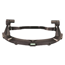 MSA MSA10116627 Black Plastic V-Gard Standard Visor Frame With 3 Point Suspension For Use With Standard Series Hardhats
