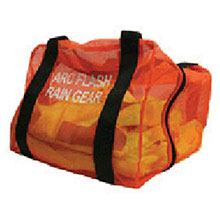 National Safety Apparel Rainwear Orange Mesh Guard Kit Protection Bag DFDLBAGRW