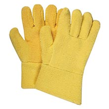 "National Safety Apparel 12"" Yellow 20 Ounce N33G43KTSR12F Large"