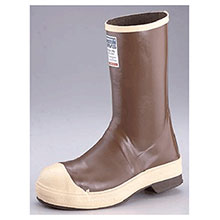 Servus by Honeywell Rubber Boots Size 7 Neoprene III Brown 12in Neoprene 22148-7