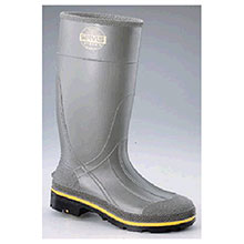 Servus Honeywell Rubber Boots 7 PRO Gray 15in Chemical Resistant Safety 75101-7