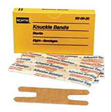 North by Honeywell Latex Free Woven Knuckle Adhesive Bandage 20020