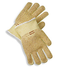 NOS52/7457North X-Large Grip N 7 Gauge Kevlar Blended Hot Mill Glove With Nitrile Coating On Both Sides And Wide Cuffs