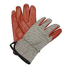 North by Honeywell NOS85/3729M Medium Worknit Heavy Weight Black Nitrile Palm And Finger Coated Work Gloves With Cotton Liner And Slip-On Cuff