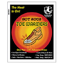 Occunomix Hot Rods Toe Warming Packs 1106-10TW