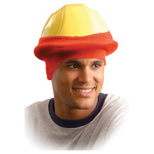 OccuNomix OCCRK800-HVO Hi-Viz Orange 100% Polyester Hot Rods Classic Hard Hat Tube Liner