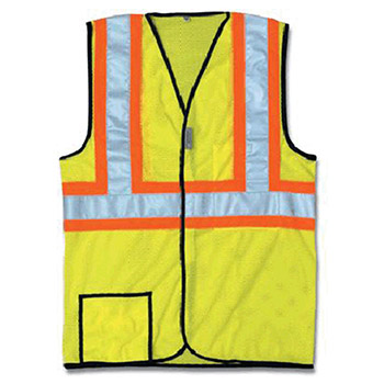 Occunomix Large Hi Viz Yellow OccuLux Lightweight SSCOOL2-YL