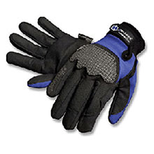 HexArmor Cut Resistant Gloves Small Black Blue Ultimate L5 SuperFabric 4018-S