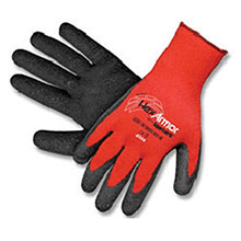 HexArmor Cut Resistant Gloves Small Red Black Level 6 Series SuperFabric 9011-S