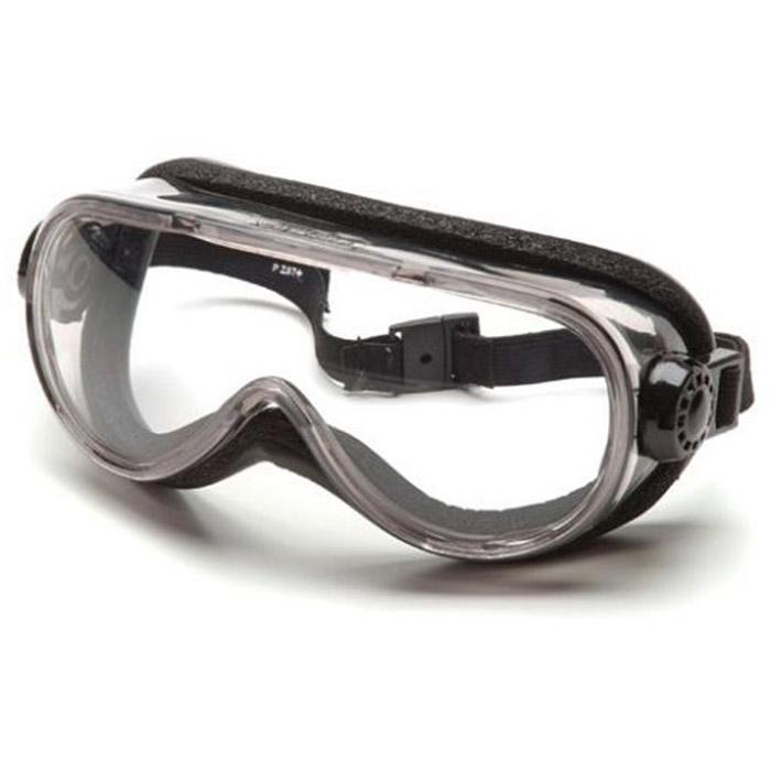 pyramex safety glasses goggles frame chem splash clear g404t