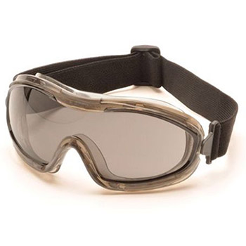 Pyramex Safety Glasses Goggles Frame Chem Splash Gray G724T