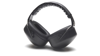 Pyramex Fold-Away Padded Headband Soft Foam Ear Cups, Adjustable to Fit All Sizes, NRR 26dB, Per Pair