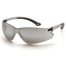 df1fcbdc278 Pyramex Safety Glasses Itek Frame Silver Mirror Silver S5870S ...