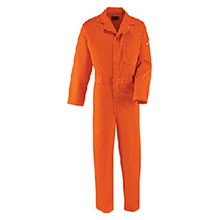Red Kap Industries FR 38 Regular Orange 9 Ounce Cotton Coveralls HRC2-CEC2ORRG38