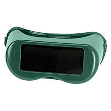 Radnor Safety Glasses Fixed Front Welding Goggles Green Rigid RF-24
