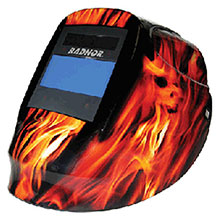 Radnor Welding Helmet DV Series Orange Black 64005211
