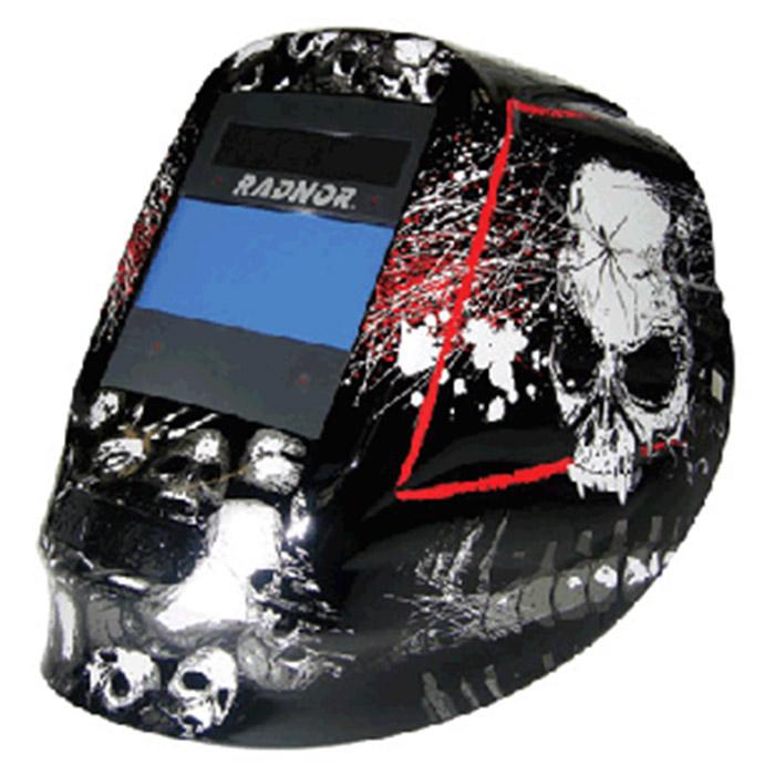 Custom Welding Helmets >> Radnor Welding Helmet Dv Series Black White Red 64005212