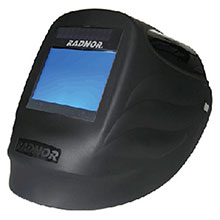 Radnor Welding Helmet DV Series Black 5 1 4in 64005220